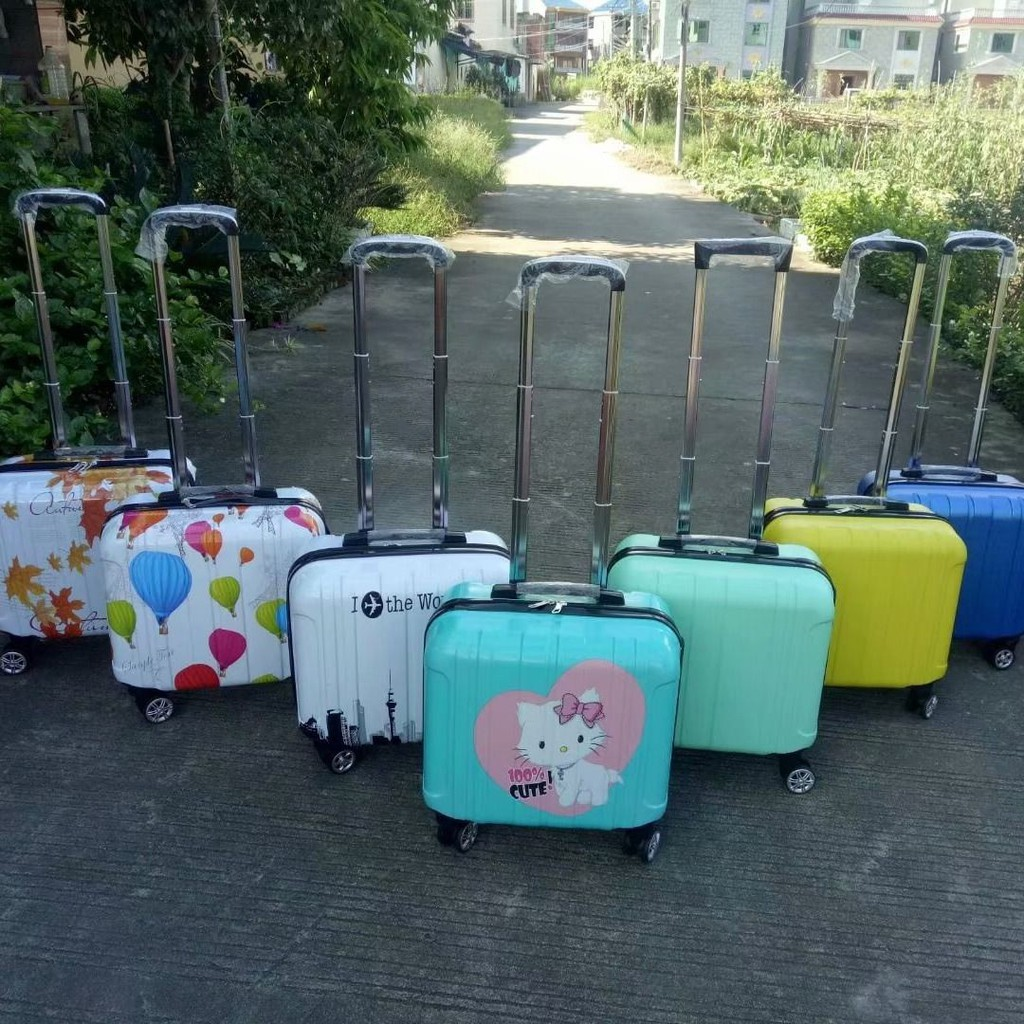 ✠ஐ♝กระเป๋าเดินทางขนาดเล็กหญิงกระเป๋าเดินทาง 16 นิ้วกระเป๋าเดินทางหญิง 18 นิ้วธุรกิจกระเป๋าเดินทางขนาดเล็กกระเป๋าเดินทาง