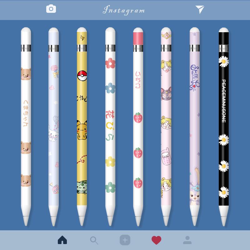 ◆ปากกา ipad◆applepencilสติกเกอร์ Applepencilฟิล์มipadสติกเกอร์ปากกาเขียนด้วยลายมือสติกเกอร์กันลื่นรุ่นแรกและที่สอง2การ์ต