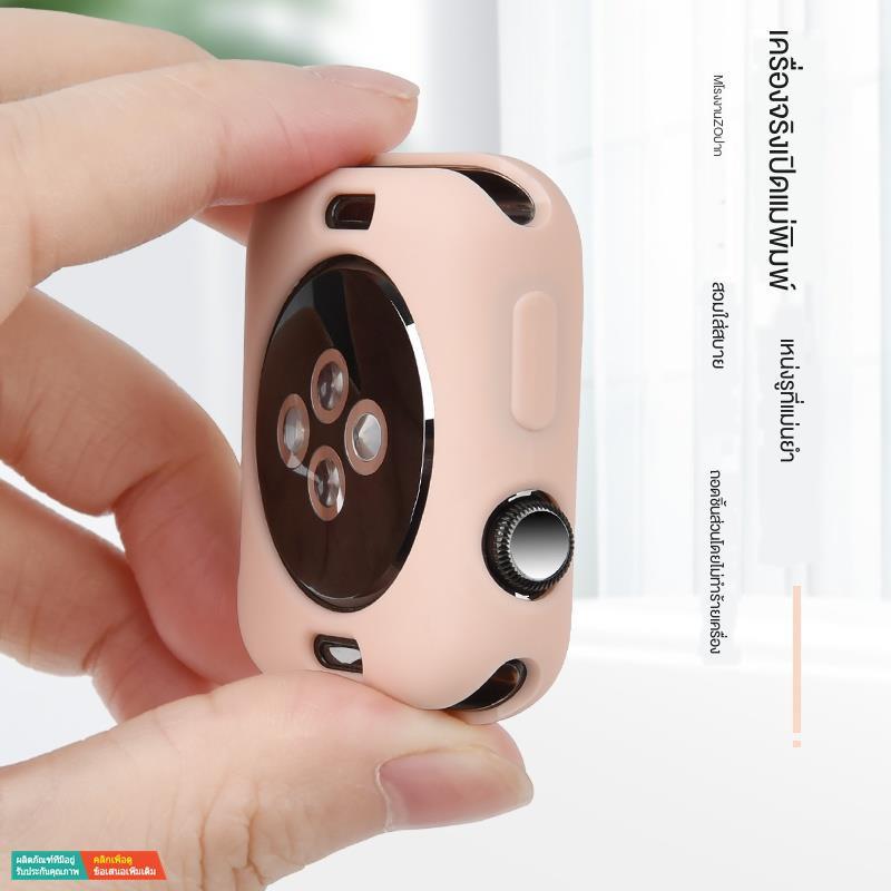【กระเป๋ากล้อง】เหมาะสำหรับเคส Apple Watch iwatch5 case 4/3 / se 6 รุ่น half pack เคสซิลิโคน TPU เคส applewatch series5