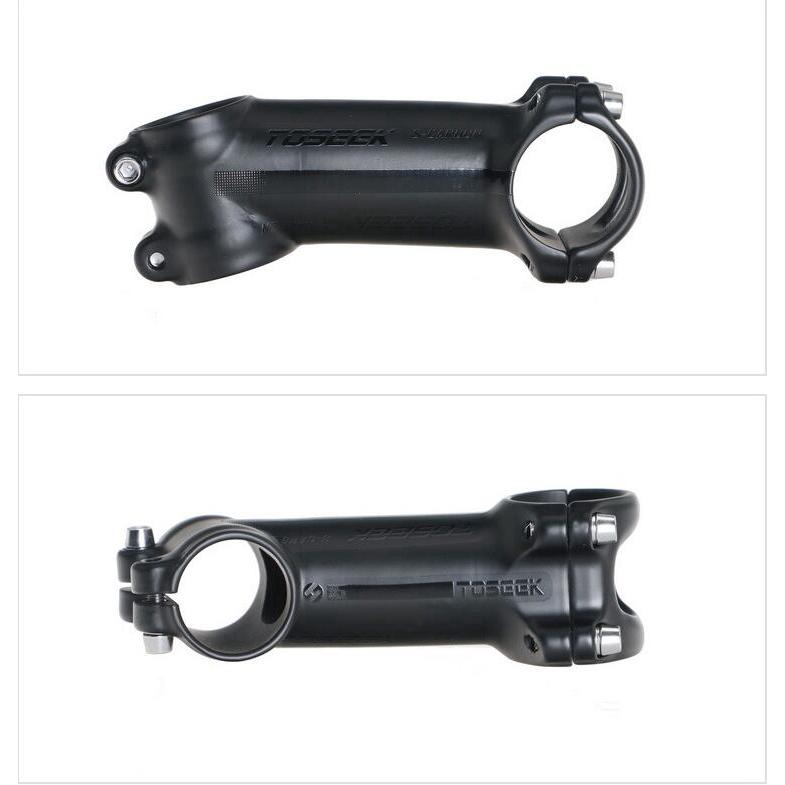 TOSEEK Aluminium Carbon Fiber Bike 6//17 Degree Stem Bicycle Handlebar Stems#