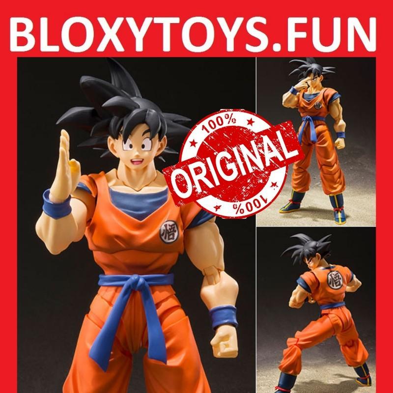 S.H Figuarts Dragonball Z Goku A Saiyan raised on Earth action figure Bandai