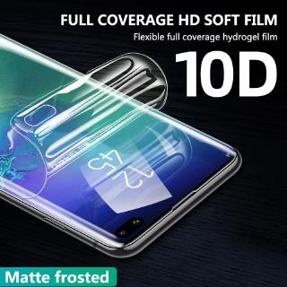 Review ฟิล์มไฮโดรเจลติดมือถือ กันรอย สำหรับ Samsung Galaxy S20 Ultra S10e S10 5G S9 S8 Plus Note 10 Pro 9 8 Front+Back Protect Soft Case