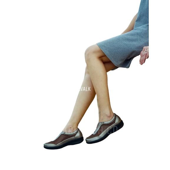 รองเท้าคัชชูเพื่อสุขภาพ  รุ่น MF4163 Gold