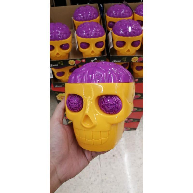 จูปาจุ๊ปส์ สกัล Chupa Chups Skull 10 lollipops
