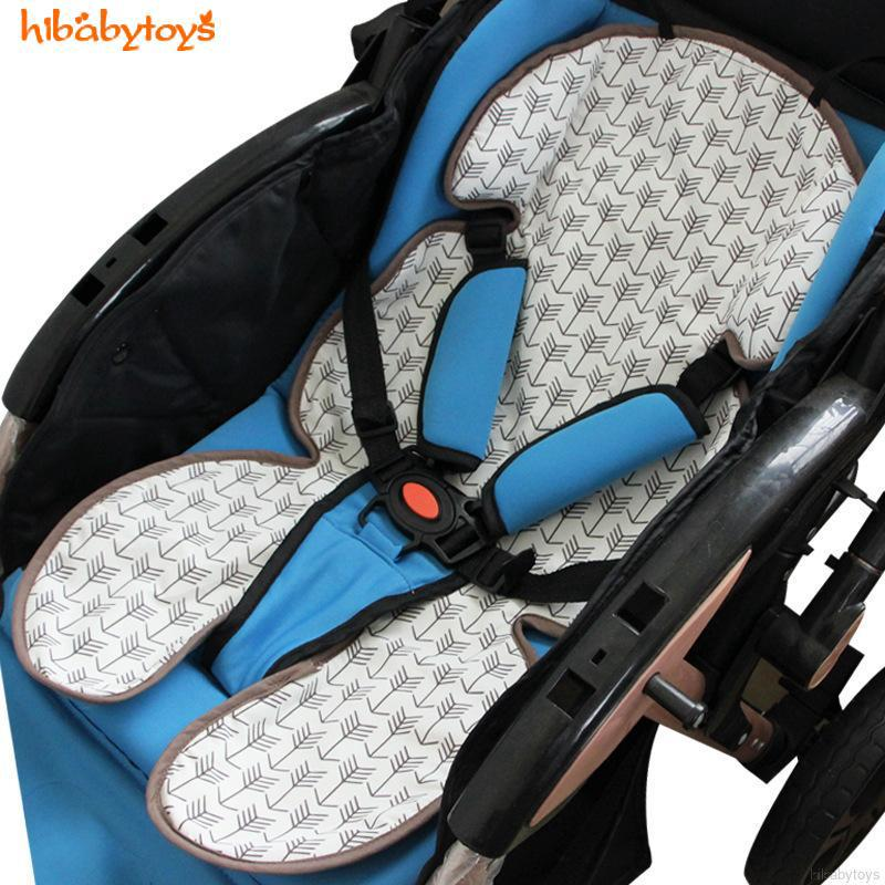 เบาะรถเข็น เบาะรองนั่งเด็ก Liners Ice Mat Soft Baby Kids Cushion Pad Summer Supply Seat Stroller Accessories