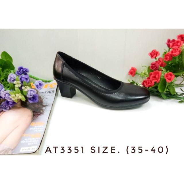 รองเท้าคัชชูดำสตรี#รองเท้าคัชชูดำแบบสุภาพ