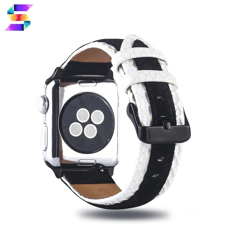 Smt สายนาฬิกาข้อมือหนังสําหรับ Applewatch