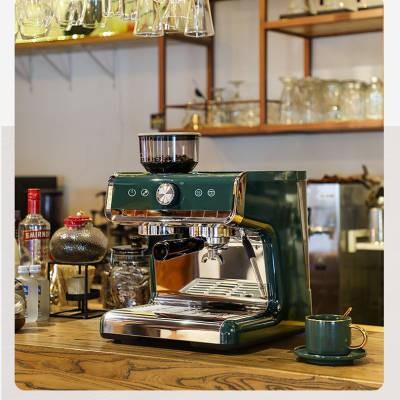 や℅Spot Maxim เครื่องชงกาแฟ Marseille เครื่องทำฟองนมในครัวเรือนกึ่งอัตโนมัติของอิตาลีเครื่องบดขนาดเล็กเชิงพาณิชย์ [สิ้นสุ