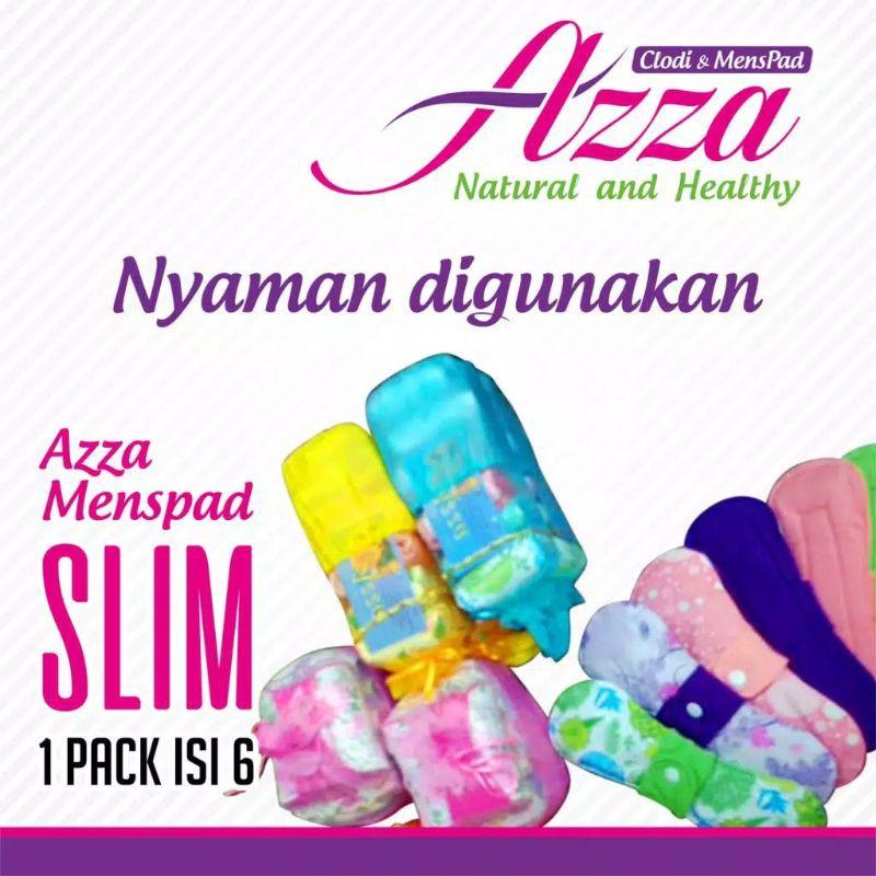 Azza Night Wash Pads แผ่นล้างทําความสะอาด 6 30 ซม