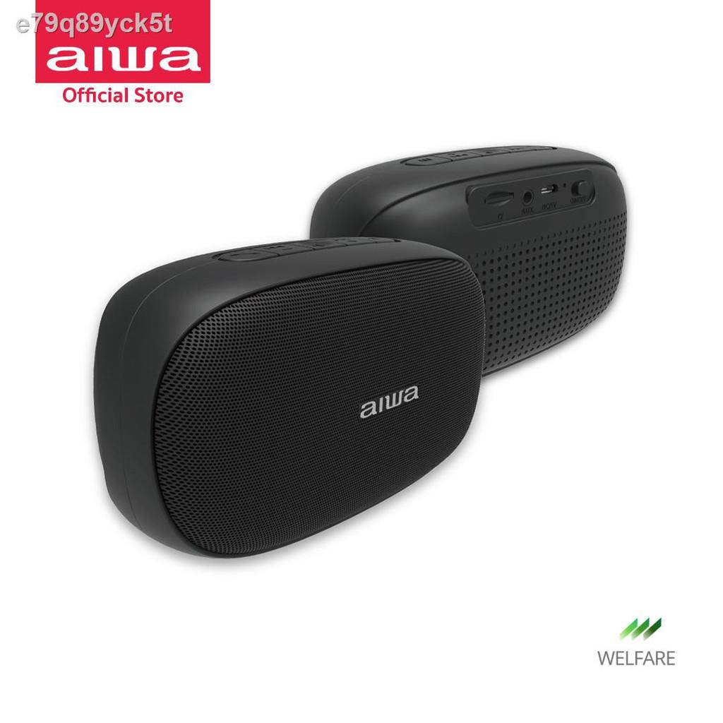 ลำโพงอัจฉริยะ、หม้อน้ำระบายความร้อนด้วยน้ำ cpu、เคสป้องกันชุดหูฟังบลูทู ธ◐﹍AIWA SB-X50 Mini Bluetooth Speaker ลำโพงบลู