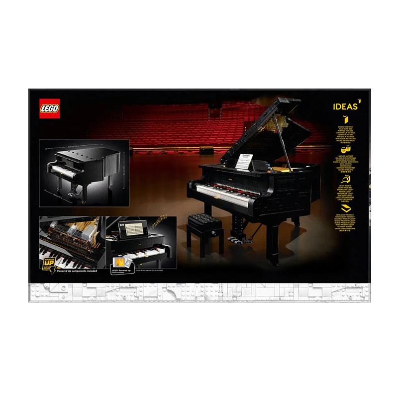 โมเดล LEGOเลโก้IDEASชุด21323เปียโนGrand Pianoความยากสูงของผู้ใหญ่ประกอบโมเดลของเล่น qvtw