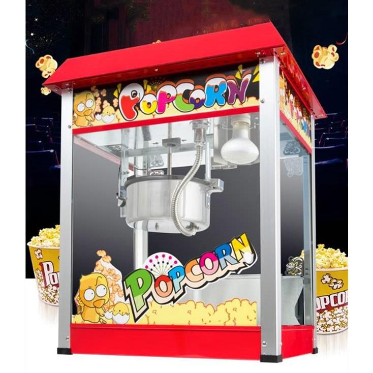 ตู้ป๊อปคอร์น เครื่องทำป๊อปคอร์น popcorn 8 ออนซ์.