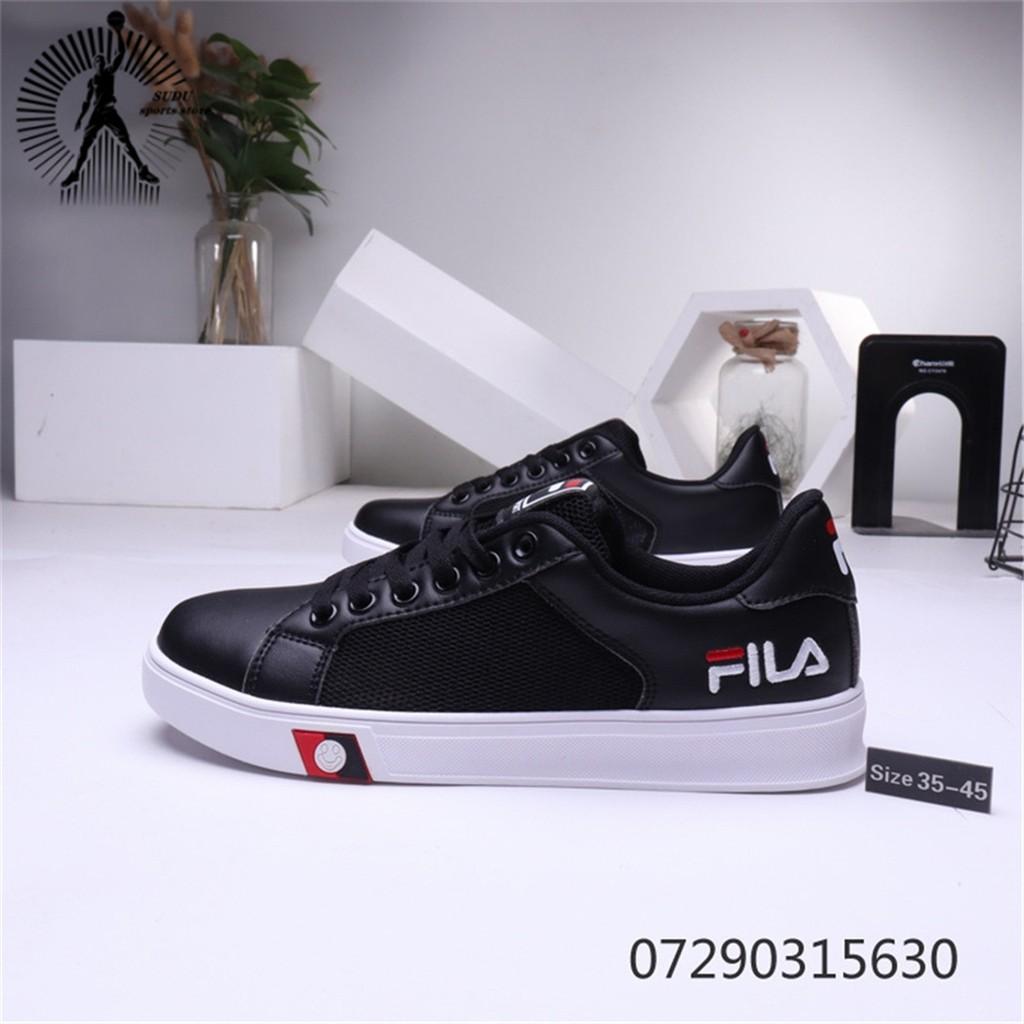 ของแท้จาก FILA รองเท้าผู้หญิงแฟชั่นรองเท้าผ้าใบรองเท้าวิ่งรองเท้าผู้ชาย168