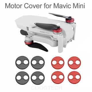 Review 4PCS DJI Mavic Mini Accessories Motor Cover Protector for Drone Aluminium Cap Engine Guard Protective Dust-proof