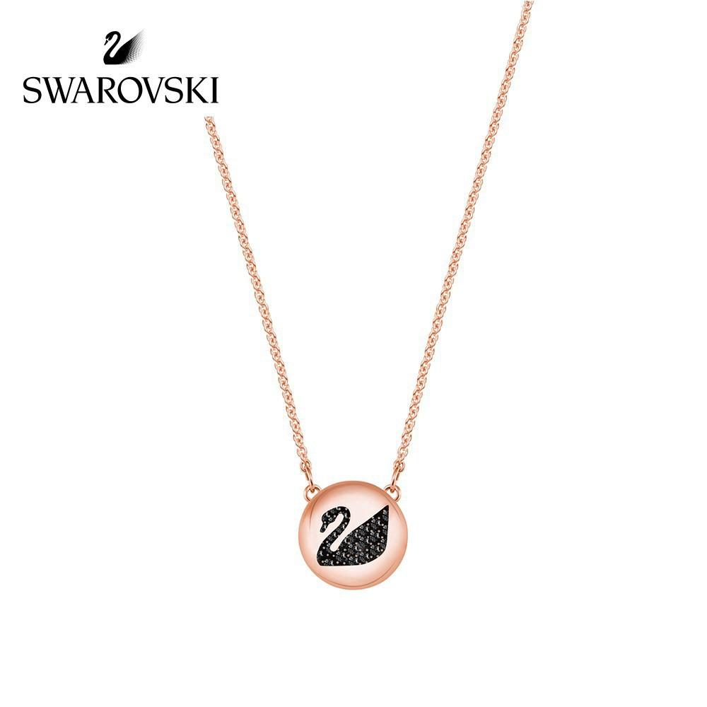 Swarovski Original สร้อยคอจี้หงส์สําหรับผู้หญิง