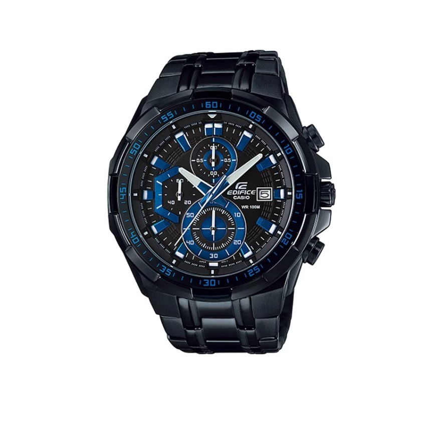 Casio Edifice นาฬิกาข้อมือชาย สายสแตนเลส รุ่น EFR-539BK-1A2V - ดำ