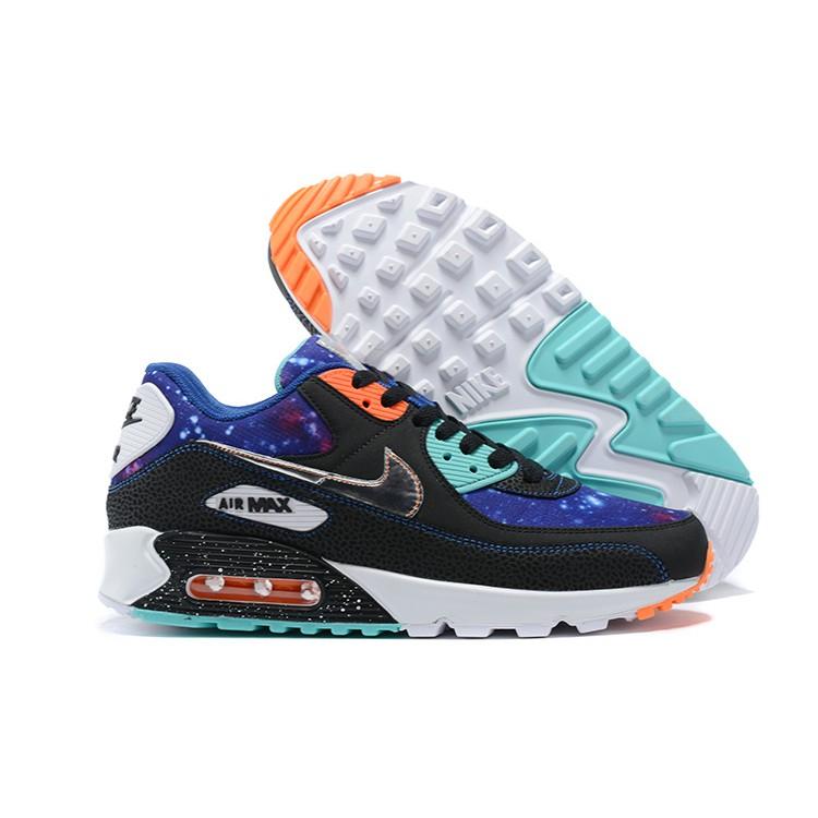 """รองเท้าผ้าใบ Nike Air Max 90 """" Cw 6018-001 สําหรับผู้ชายขนาด 40-46"""