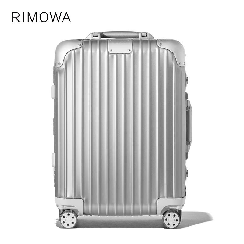 RIMOWA/RimowaOriginal20-กระเป๋าเดินทางล้อลากขนาดนิ้ว ขึ้นเครื่อง กระเป๋าเดินทาง ร้านเรือธงอย่างเป็นทางการ