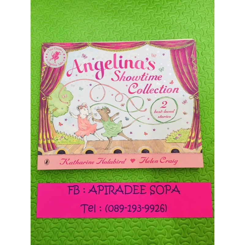 Angelina Stories books