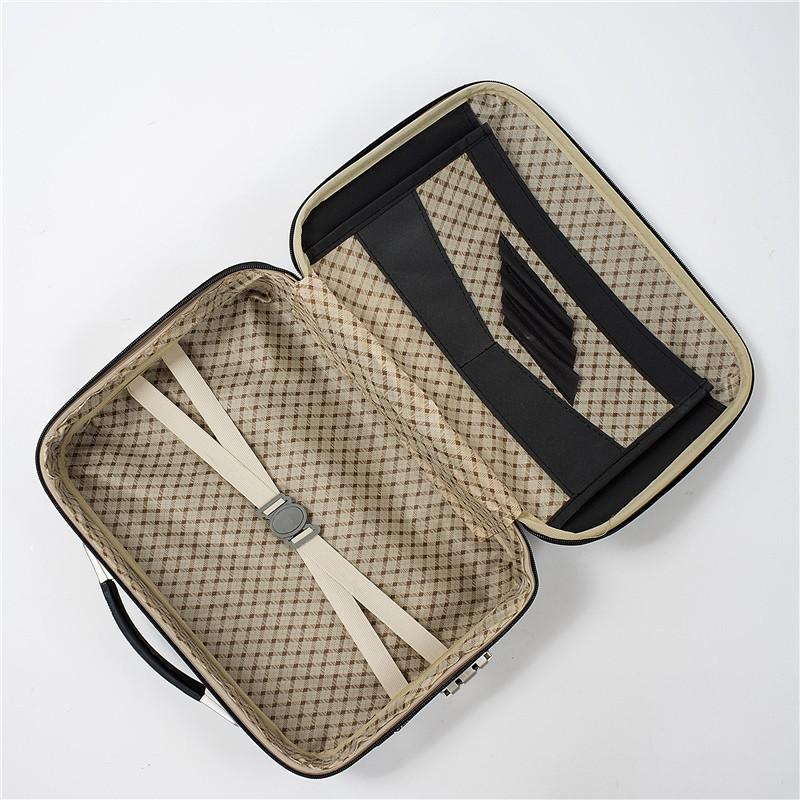 ♘◐       บูติกผู้ชายธุรกิจกระเป๋าเดินทางกระเป๋าเดินทาง / กระเป๋าเดินทางระยะสั้น 15 นิ้ว / 17 นิ้วพิมพ์โลโก้