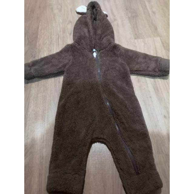 เสื้อหนาวเด็ก ชุดหมีเด็ก  ขนนุ่ม กันหนาวดีมาก