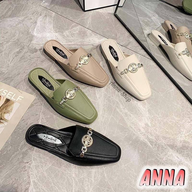 รองเท้ามีส้น รองเท้าเสริมส้น รองเท้าส้นสูงไซส์ใหญ่ รองเท้าแฟชั่นคัชชูเปิดส้น รองเท้าแฟชั่นผู้หญิง สวยมาก มาใหม่ พื้นกันล
