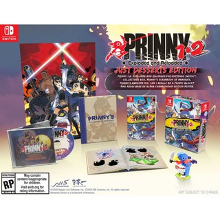 [PRE-ORDER] NSW PRINNY 1-2: EXPLODED AND RELOADED [JUST DESSERTS EDITION](US) /สินค้าวางจำหน่ายวันที่ Oct 31,2020