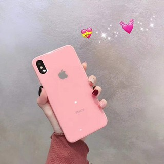 Image # 3 of Review เคสเอฟเฟคเเก้ว สีสันสดใส สำหรับ  iPhone 11 pro max i11 6 6 S 7 8 Plus X XR XS Max phone Case