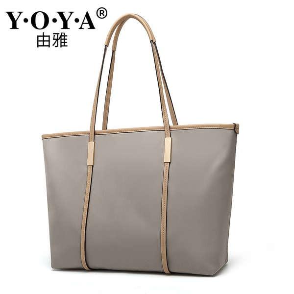 กระเป๋าถือหญิงความจุขนาดใหญ่ 2020 ใหม่พนักงานออฟฟิศเดินทางกระเป๋าใบใหญ่ขนาดเล็ก mk กระเป๋าหญิงกระเป๋าถือกระเป๋าสะพายผ้าใ