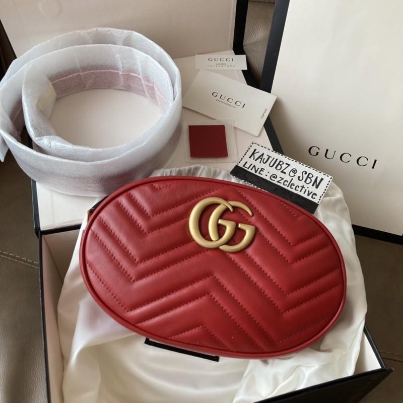 New Gucci Marmont Belt Bag Large Size 9นิ้ว ความยาวสาย 85