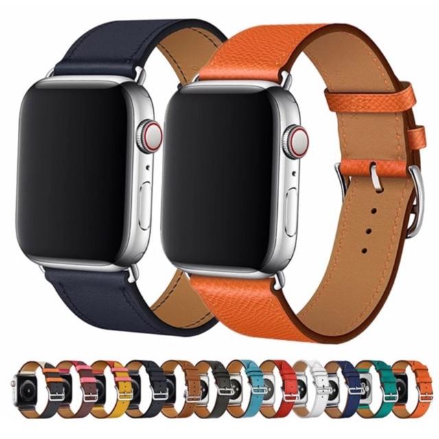 พร้อมส่งจากไทย สายหนัง Apple Watch ใส่ได้ทั้ง series SE/6/5/4/3/2/1 มีทั้งขนาด 38/40mm & 42/44mm