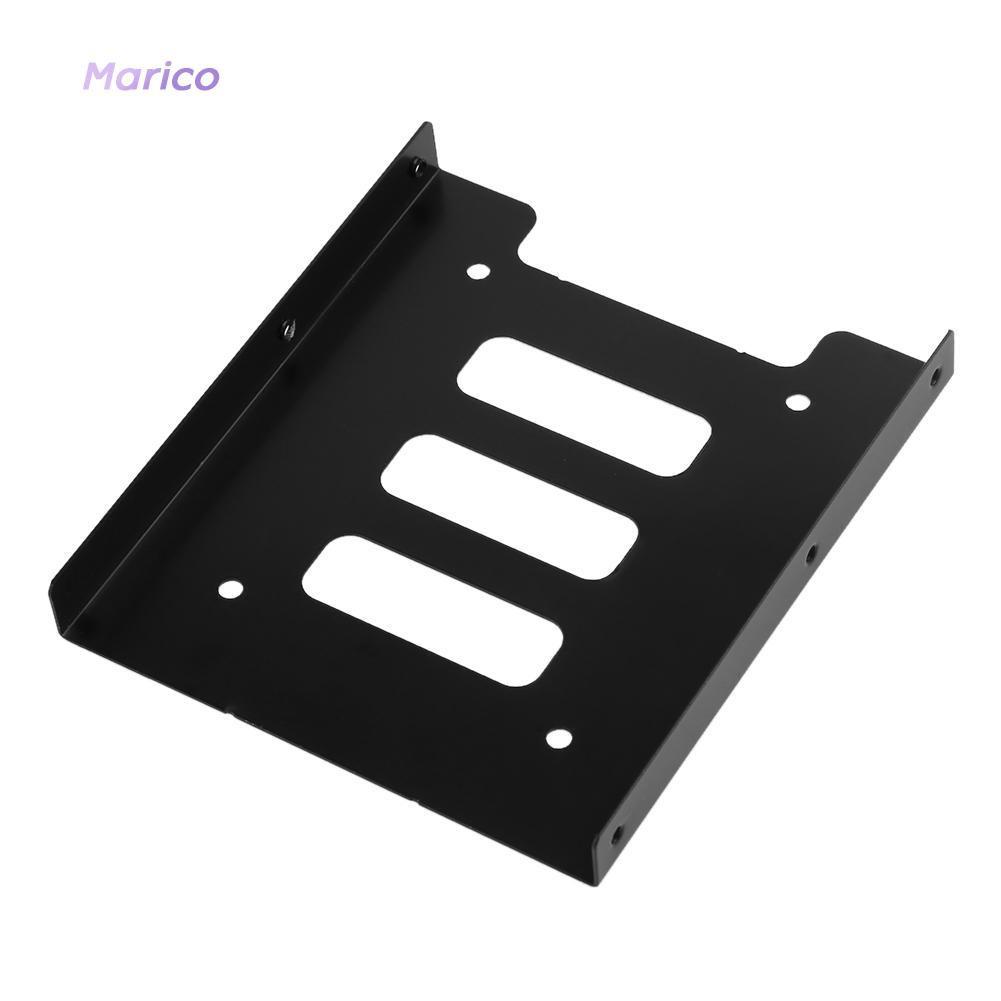 อะแดปเตอร์ mametal Adapter Bracket Bracket 2.5 นิ้ว to 3.5 นิ้ว SSD HDD