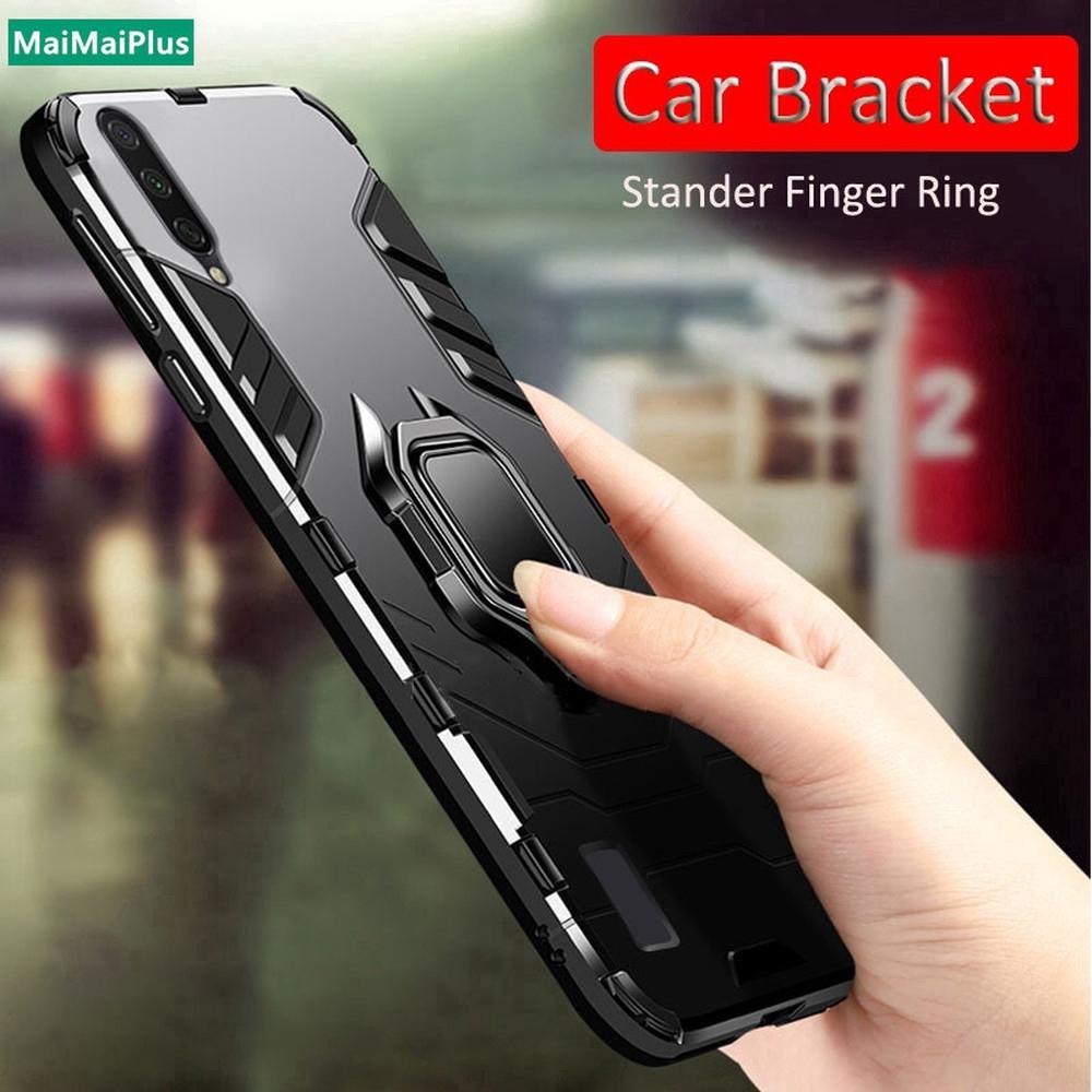 Casing Samsung A8 A5 A9 2018 J6 J4 Plus J2 Pro 2018 A8S A9S Armor Shockproof Phone Case Hard PC Cover Built-in Holder
