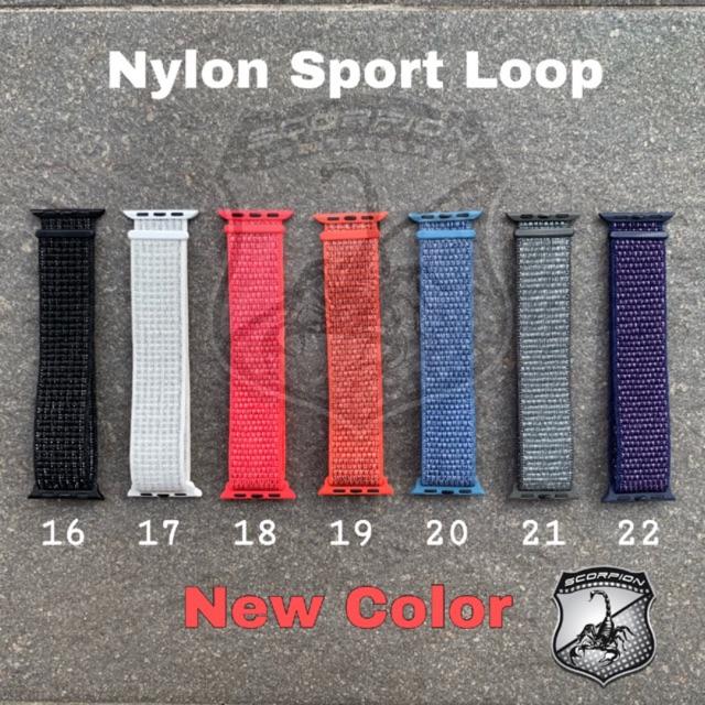 🔥ลด7วัน🔥 สาย Nylon Sport Band for Apple Watch Series 1,2,3,4,5 (NEW)