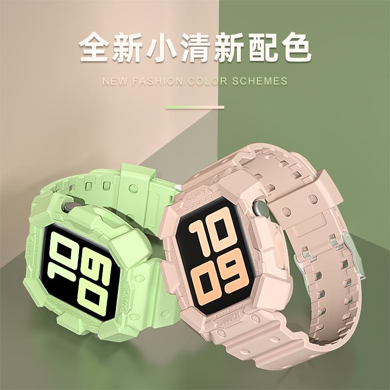 ✌ˆสายนาฬิกา 22mmสายนาฬิกาหนังสายนาฬิกา applewatchสายนาฬิกา applewatch ใช้ได้กับ Apple Watch applewatch รุ่น iwatch6/5แบบ