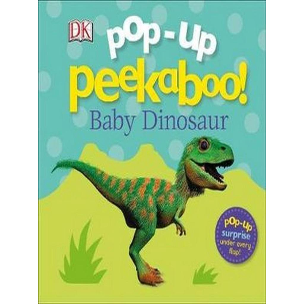 Crafts Books POP-UP PEEKABOO!: BABY DINOSAURrafts Books POP-UP PEEKABOO!: BABY DINOSAUR