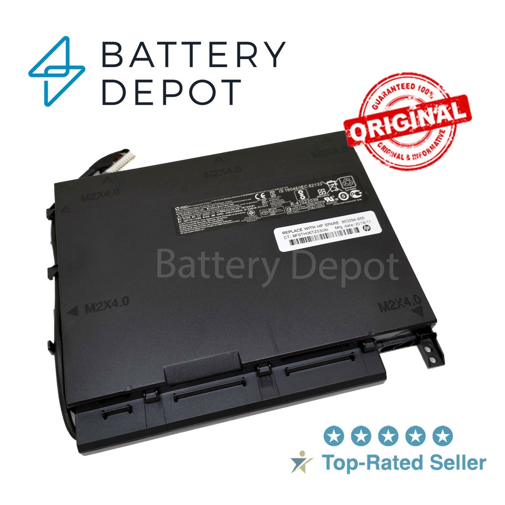 HP แบตเตอรี่ ของแท้ PF06XL (สำหรับ Omen 17 ปี2016, HP Omen 17-w202TX, Omen 17-W) HP Battery Notebook แบตเตอรี่โน๊ตบุ๊ค