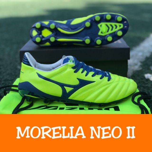รองเท้าฟุตบอล Mizuno Morelia Neo II - Yellow / Navy