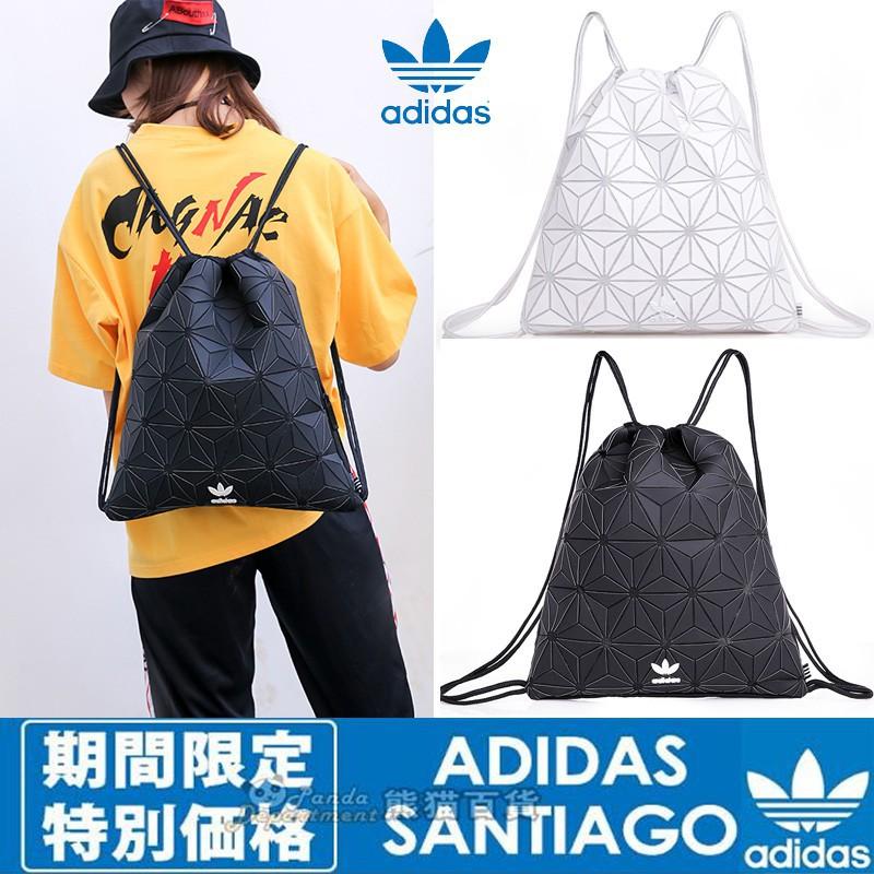 Adidas Originals URBAN BACKPACK กระเป๋าเพชร Drawstrings Isse