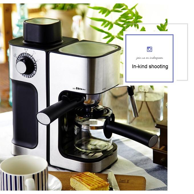 เครื่องชงกาแฟเชิงพาณิชย์แบบไอน้ำบดสดเครื่องทำฟองนมอัตโนมัติอัตโนมัติเครื่องชงกาแฟแฟนซี