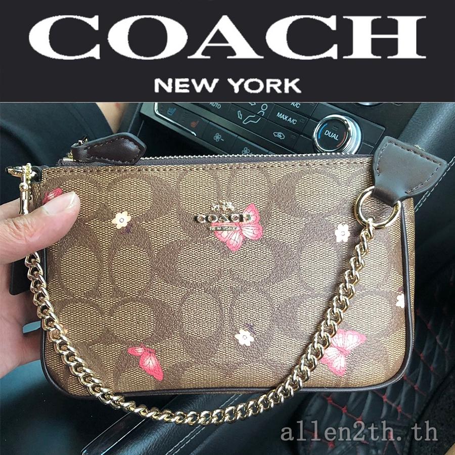 กระเป๋าสะพายข้าง COACH แท้ F2953 กระเป๋าสะพายข้างผู้หญิง / crossbody bag / กระเป๋าสะพายข้างสายโซ่ / กระเป๋าถือ