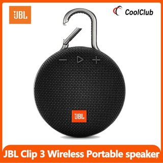 JBL Clip3 Wireless Bluetooth Speaker Mini Audio Portable Music Box Outdoor Subwoofer Ipx7 Waterproof Portable Buckle For