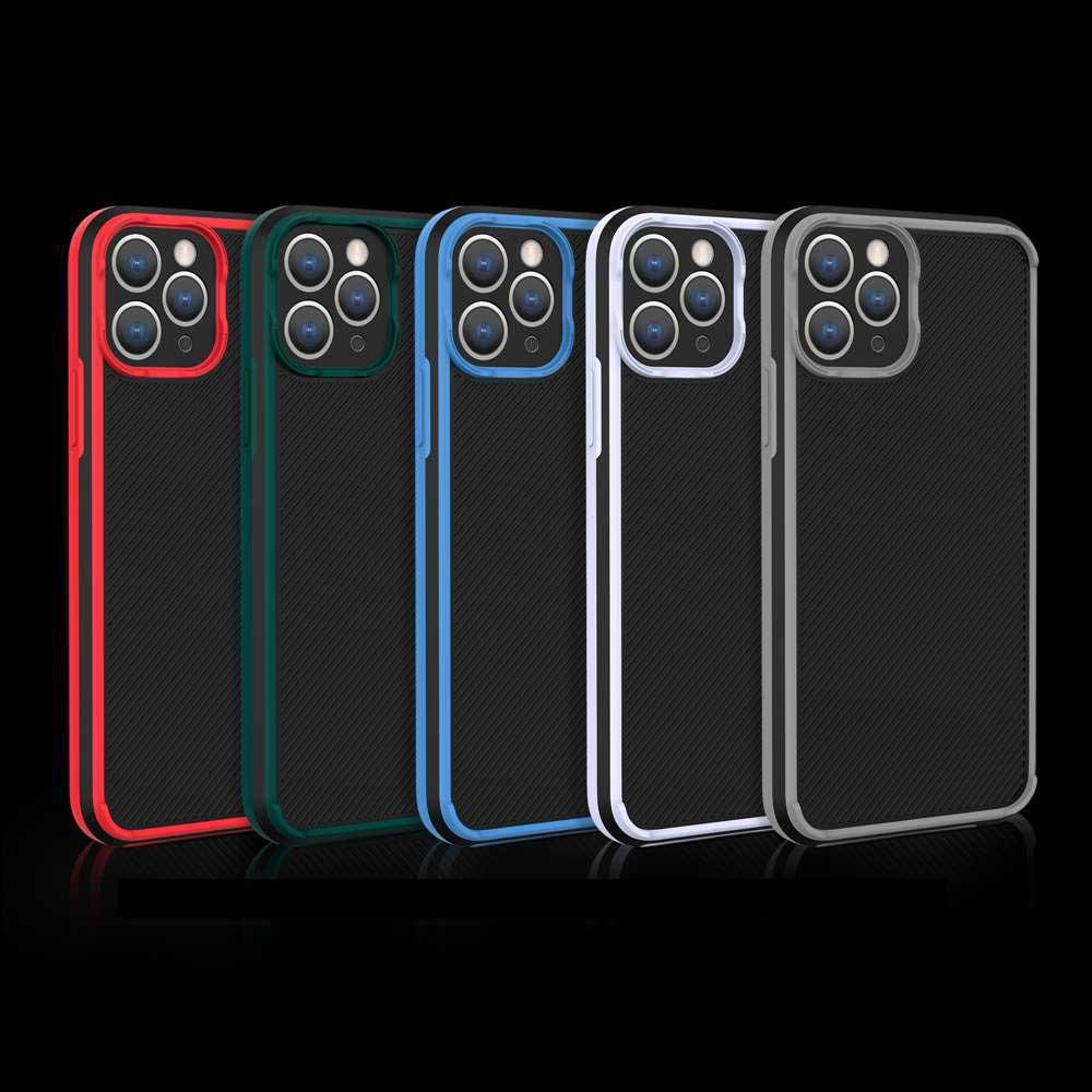 เคสโทรศัพท์มือถือแบบสองสีสําหรับ Iphone Se 2020 7 8 Plus 11 Pro Max