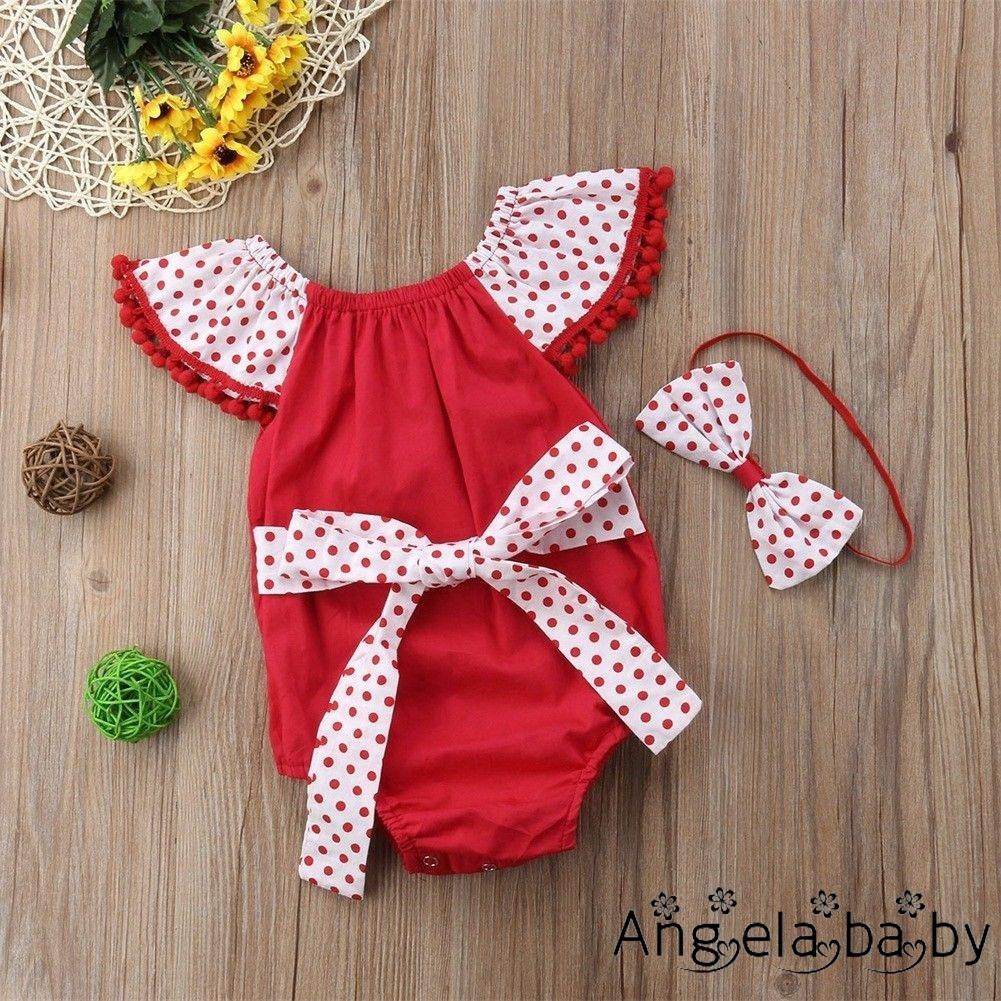Adorable Infant Kid Baby Girl Backless Romper Jumpsuit Playsuit Outfit Clothes g