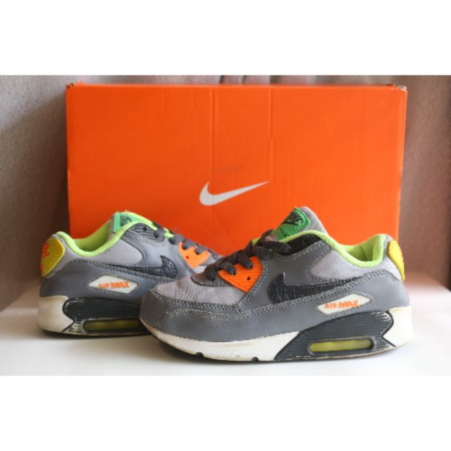Nike Air Max 90 (PS) Boys Running Shoes ยาว 21cm EU33.5 แท้