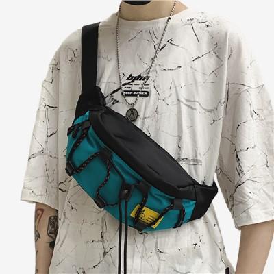 chanel classicกระเป๋า cgCrossbody bag male ins fashion small 2021 new summer brand chest boy waist shoulder men s