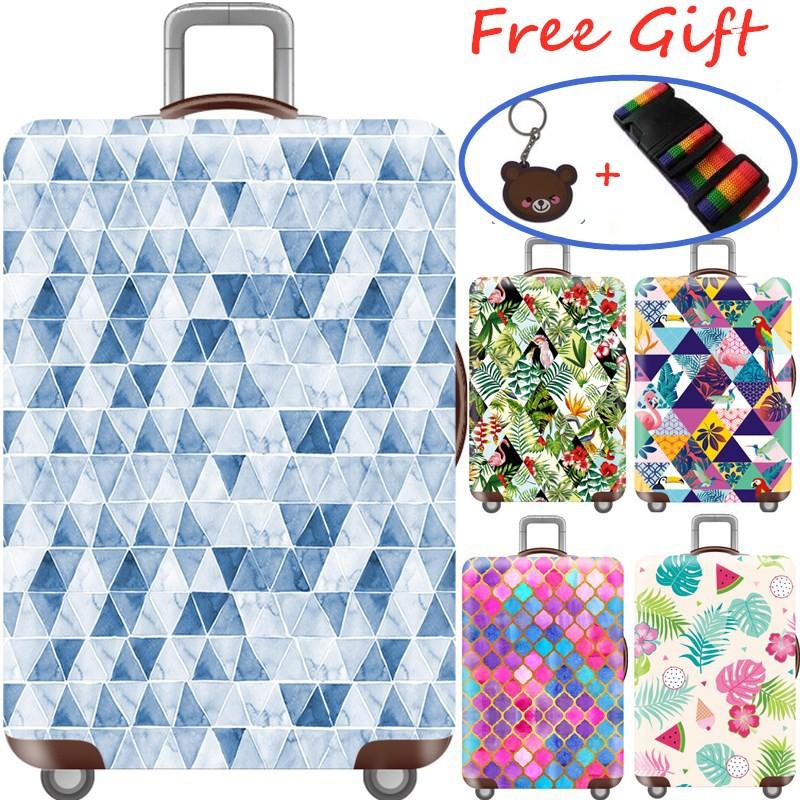 ผ้าคลุมกระเป๋าเดินทาง Luggage cover สไตล์เมืองที่น่ารัก Colourful Series 20/24/28/32 Inch