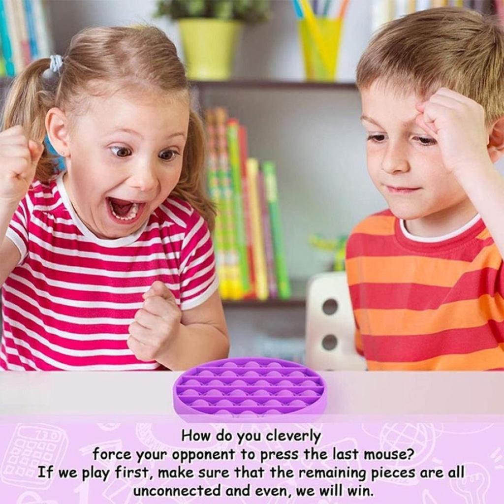 ◐✴✜พร้อมส่งส่งจากกรุงเทพpop itของแท้สีรุ้ง ไอติมพาสเทล ไดโนเสา Pop it Push Pop Bubble Toys ของเล่นปุ่มกด บับเบิ้ล คลายเค