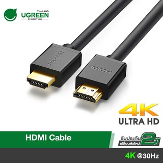 UGREEN สาย HDMI Cable 4K  แบบสายกลม for TV , computer ,  monitor , projector