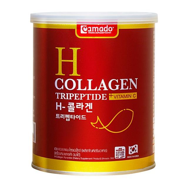 Amado H Collagen อมาโด้ เอช คอลลาเจน พรีเมี่ยม (110 กรัม X 1 กระป๋อง).
